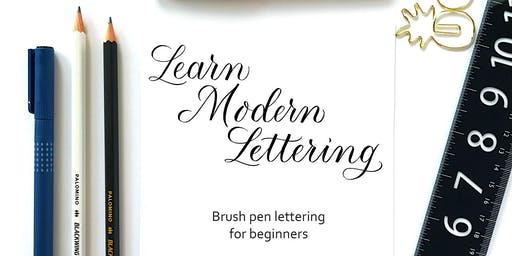 Learn Modern Lettering (with a brush pen)