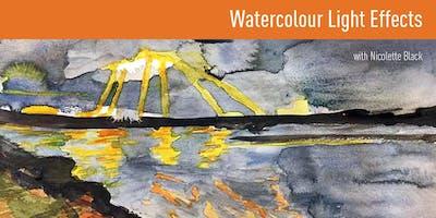 Watercolour Light Effects