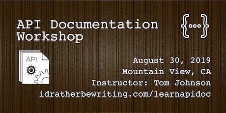 API Documentation Workshop tickets