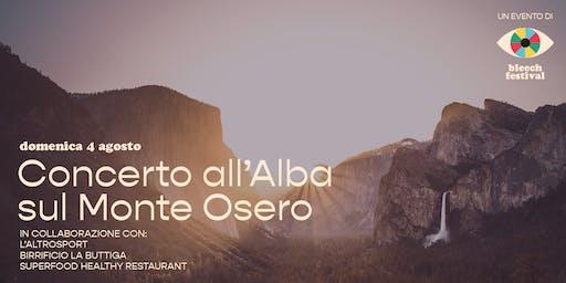 L'altroBleech: Cecilia live sul Monte Osero