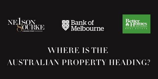 WHERE IS THE  AUSTRALIAN PROPERTY HEADING?
