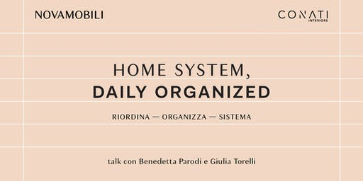 HOME SYSTEM, DAILY ORGANIZED