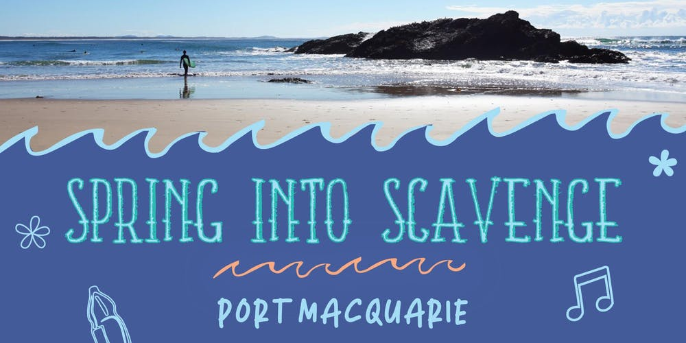 Spring Into Scavenge - Port Macquarie Tickets, Sun 08/09