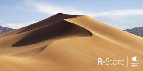 Il nuovo sistema operativo macOS Mojave biglietti