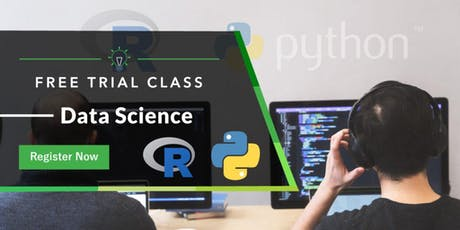 Free Trial Class: Data Science with Python & R  tickets