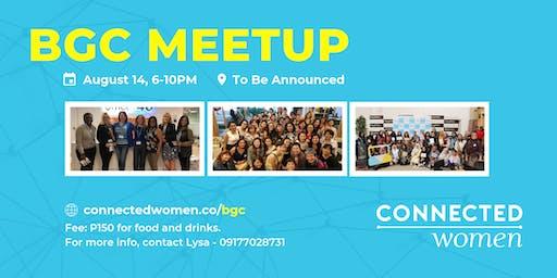 #ConnectedWomen Meetup - BGC (PH) - August 14