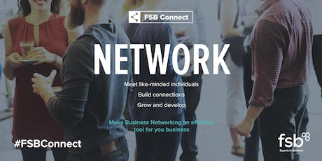 #FSBConnect Networking: Holywell - 13 August tickets