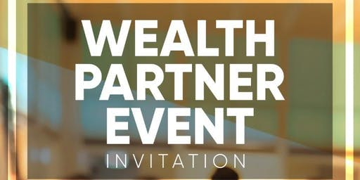 Wealth Partner evening - JHB 24 July