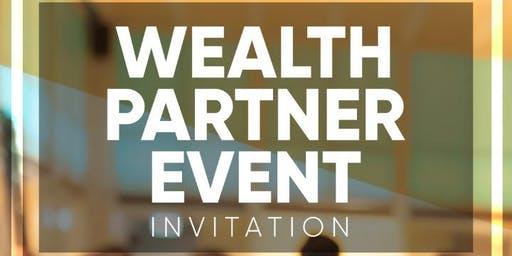 Wealth Partner Event - DBN 25th July