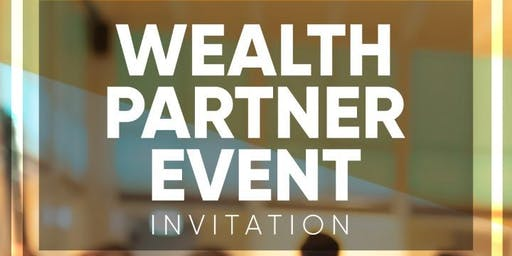 Wealth Partner Evening - CPT 23 July