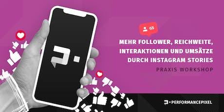 Mehr Follower, Reichweite und Umsätze mit Instagram Stories Tickets