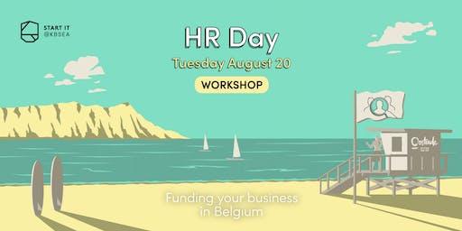 Funding your business in Belgium #BREXITday #workshop #startit@KBSEA