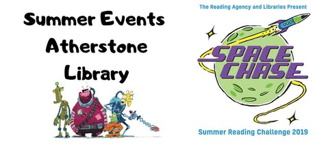 Summer Events at Atherstone Library tickets