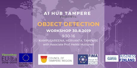 AI Hub Tampere: Workshop on Object Detection tickets