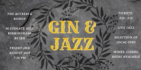 Gin & Jazz Night tickets