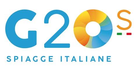 G20s il summit delle località balneari in Italia biglietti