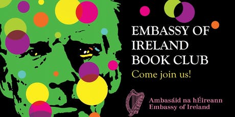 "Embassy of Ireland Book Club - Joseph O'Connor ""Shadowplay""  tickets"