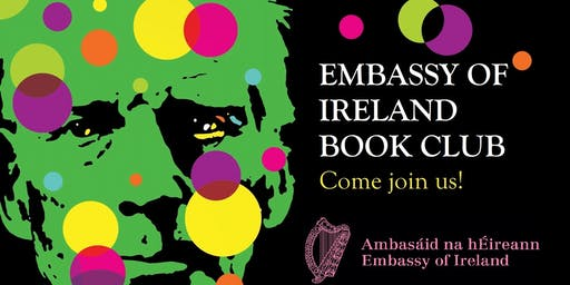 "Embassy of Ireland Book Club - Joseph O'Connor ""Shadowplay"""