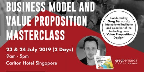 2-day Business Model & Value Proposition Masterclass tickets
