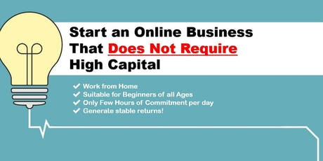 Start Your Online Business with Amazon with a Minimum Capital tickets