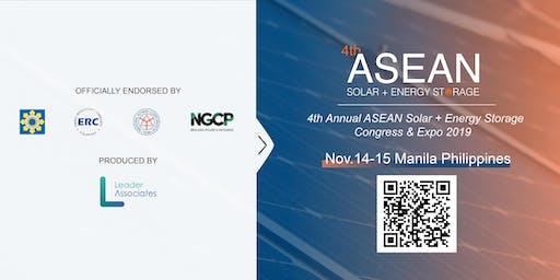 4th ASEAN Solar + Energy Storage Congress & Expo 2019