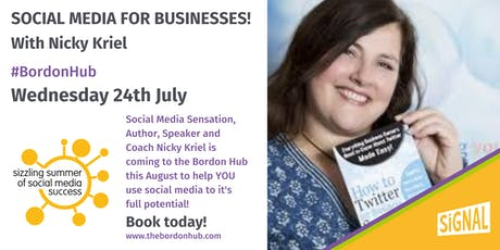 Social Media for Businesses - with Nicky Kriel tickets