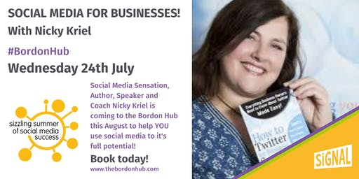 Social Media for Businesses - with Nicky Kriel