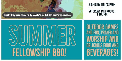 Summer Fellowship BBQ!