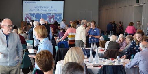Mesothelioma UK Patient and Carer Day 2019