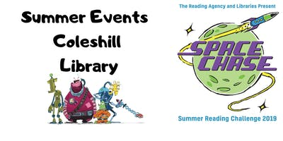 Summer Events at Coleshill Library