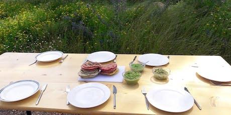 Atelier de cuisine immersive au Champ du Chaudron: cuisiner les plantes sauvages tickets