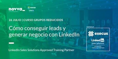 Consigue Leads y Genera Negocio con LinkedIn tickets