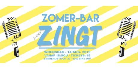 Zomer-bar Zingt 2019 tickets