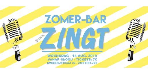 Zomer-bar Zingt 2019