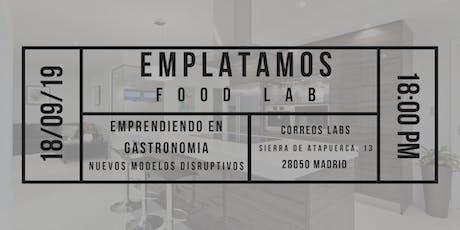 Emprendiendo en gastronomía: Nuevos modelos disruptivos tickets