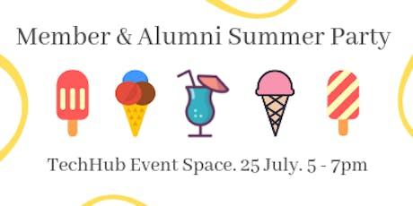 Member & Alumni Summer Party tickets