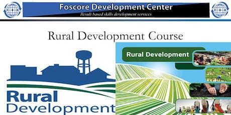 Rural Development course tickets