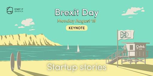 Startup stories: doing business in Belgium & the UK #BREXITday #keynote #startit@KBSEA
