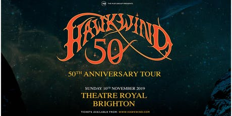 Hawkwind - 50th Anniversary Tour (Theatre Royal, Brighton) tickets
