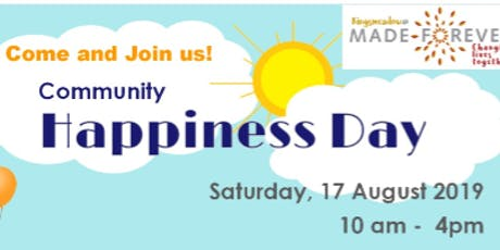 Happiness day tickets
