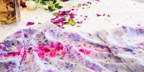 Natural Dye Workshop using Bundle-dye Technique with Organic Silk tickets