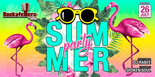Rockafellers Summer Party