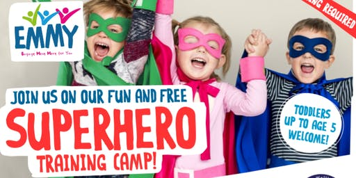 Meadowhall Mini & Me - Superhero/Princess Training Camp