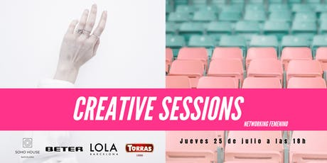 Creative Sessions - Networking para mujeres creativas entradas