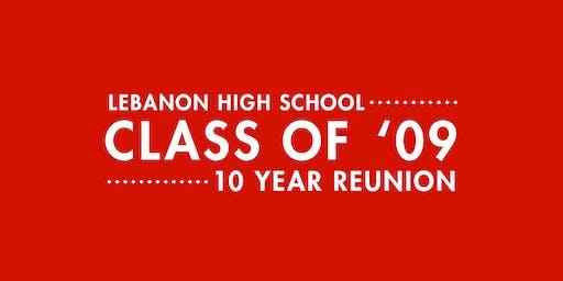 LHS Class of 2009 10 Year Reunion
