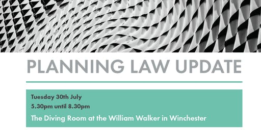 Women in Planning Solent Event - Planning Case Law Update