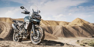 Triumph Tiger 800 XCX Test Ride