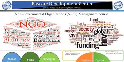 Non-Governmental Organizations (NGO) Management course