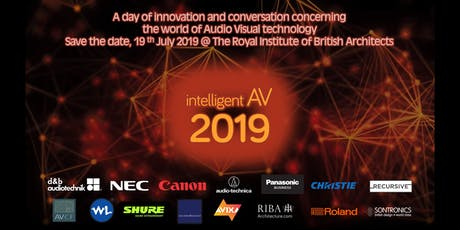 Intelligent AV iAV19 tickets