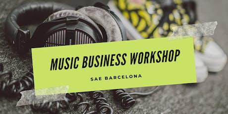Music Business Workshop tickets